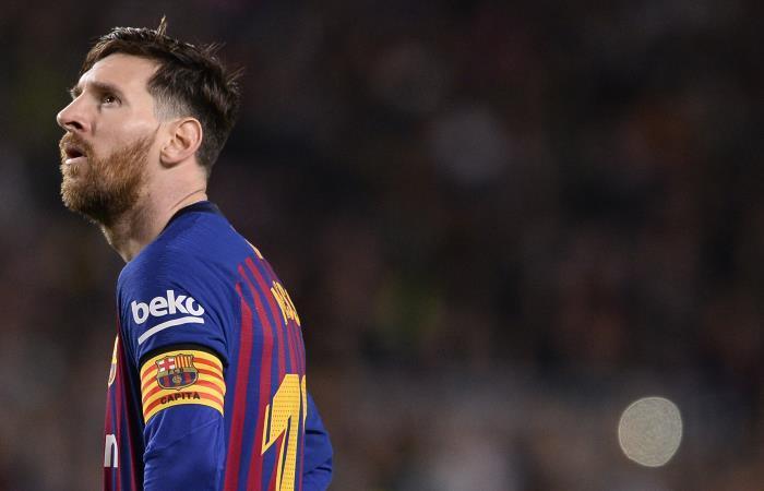 Lionel Messi, figura con Barcelona en la Liga de España. Foto: AFP