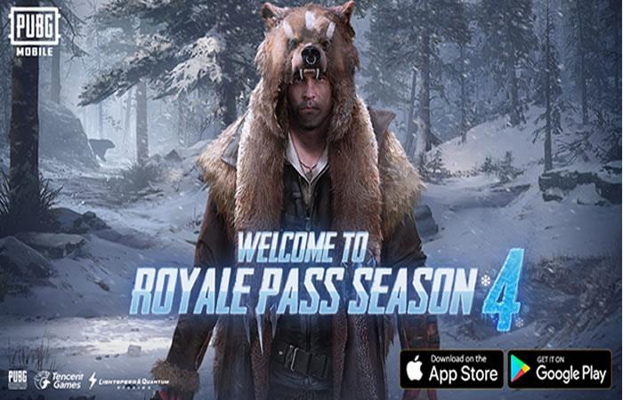 PUBG Mobilese actualiza yel Royale Pass Temporada 4 ¡está imperdible!