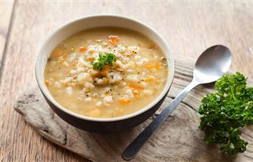 Sopa de Cebada Perlada