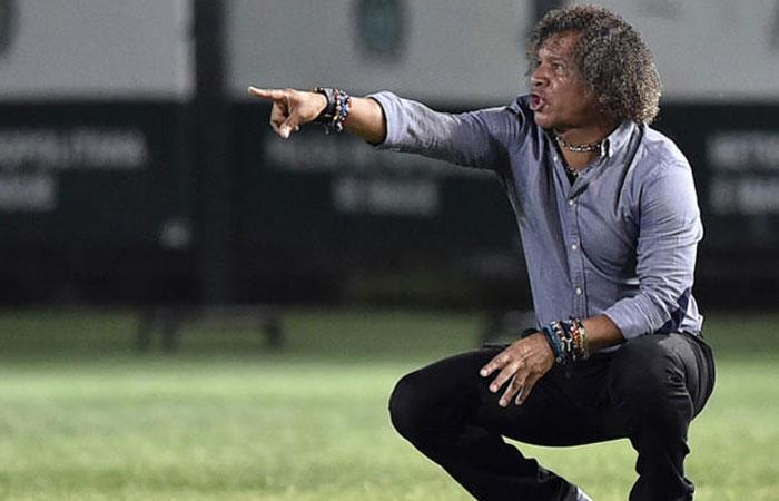 Alberto Gamero, DT de Deportes Tolima. Foto: AFP