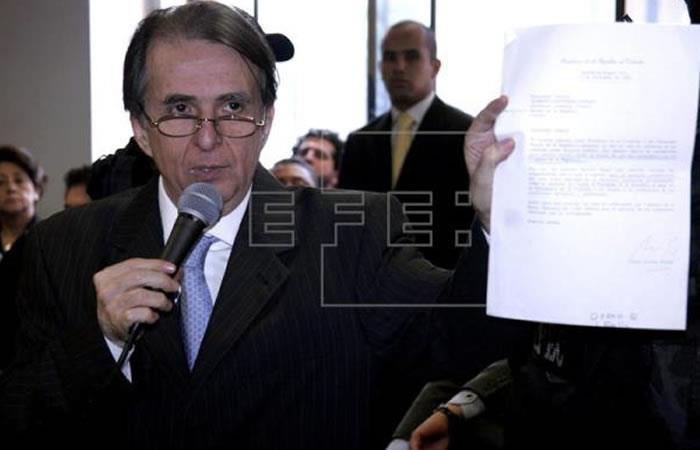 Procuraduría está en contra de que la JEP acoja caso de Alberto Santofimio. Foto: EFE