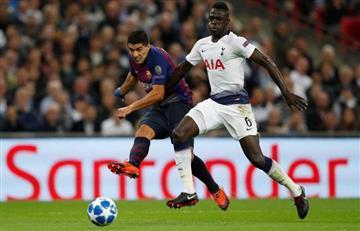 Tottenham confirmó la lesión de Davinson Sánchez