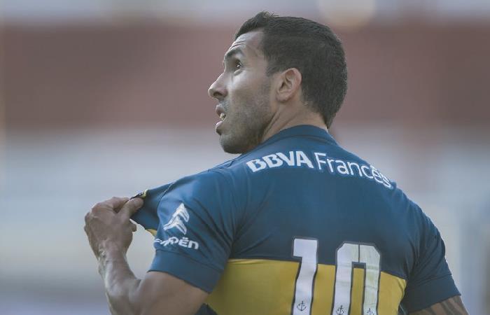 Copa Libertadores: Carlos Tévez,