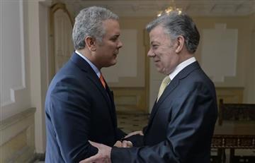 Acuerdos de paz: el claro mensaje de Santos para Duque