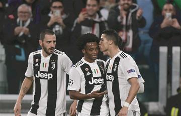 Champions League: [VIDEO] Juventus con Cuadrado aseguró su clasificación ante Valencia