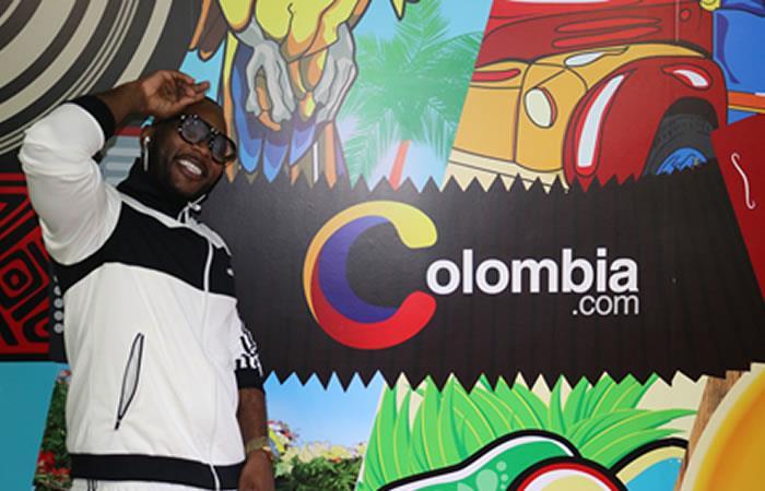 Obie-P vino 'A pasarla nice' en Colombia.com