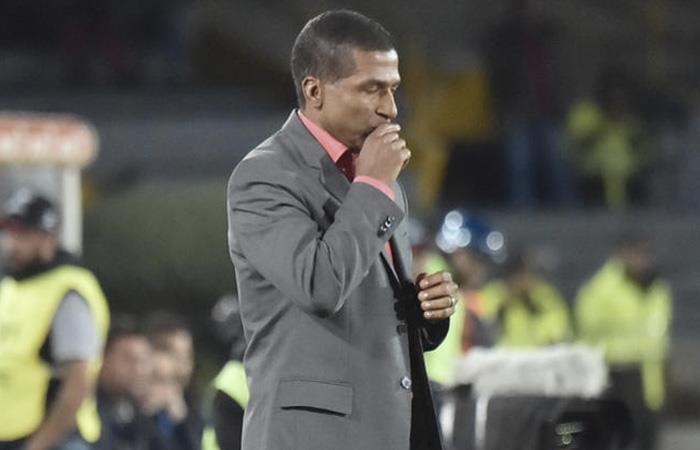 Alexis García, nuevo DT de Deportivo Pasto. Foto: AFP