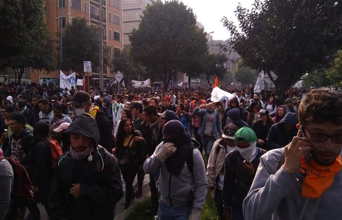 Bogotá: movilizaciones y concentraciones en la ciudad