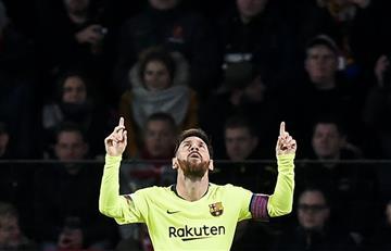 Messi sigue demostrando que tiene talento y un gran corazón