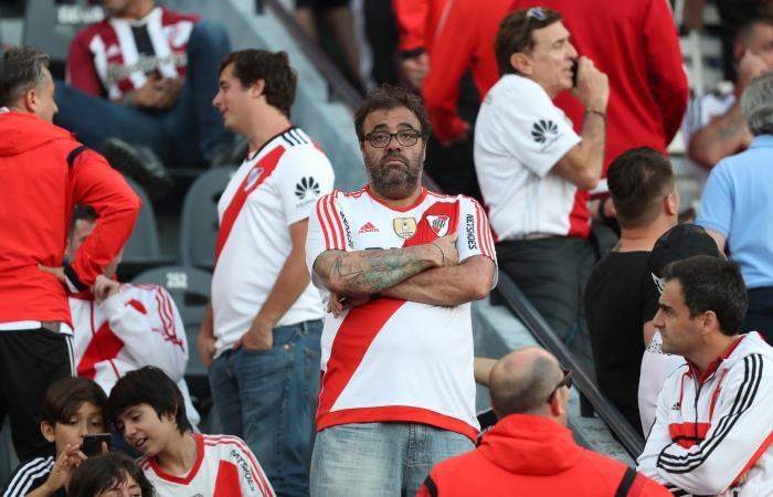 Hincha de River Plate. Foto: EFE