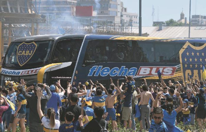 Boca no quiere jugar la final frente a River. Foto: AFP