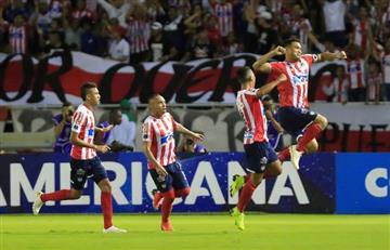 Copa Sudamericana: [VIDEO] Junior, con nueve jugadores, elimina a Santa Fe y está en la final