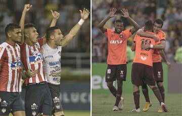 Copa Sudamericana: [VIDEO] Junior y Paranaense protagonizan la segunda final colombo-brasileña