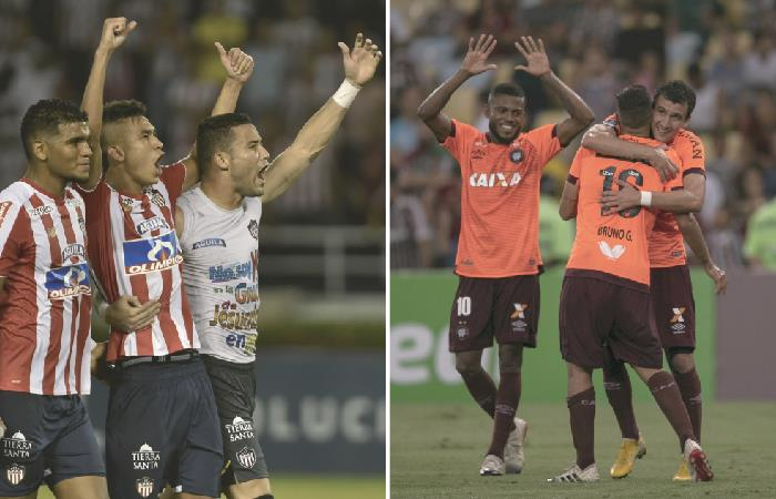 Copa Sudamericana: [VIDEO] Junior y Paranaense protagonizan la segunda final colombo-brasileña