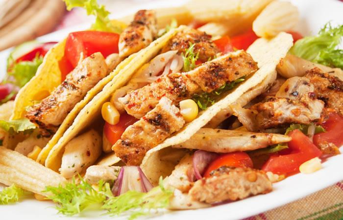 Tacos De Pollo Receta Receta Internacional