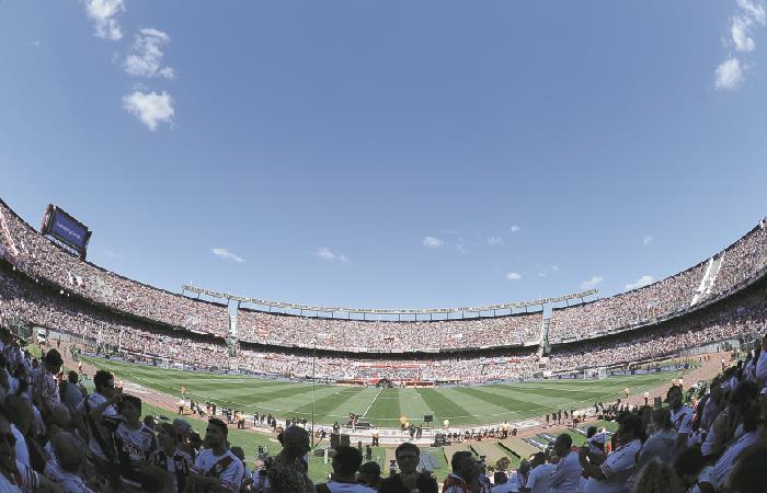 River pide que la final se juegue en el Monumental. Foto: AFP