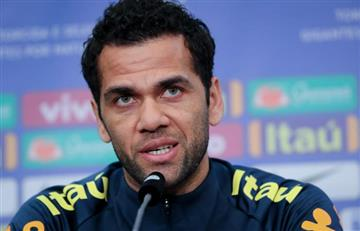 "[VIDEO] Dani Alves: ""Es una vergüenza que se juegue la final de Libertadores en Europa"""