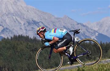 Miguel Ángel López es el mejor colombiano en el ranking UCI
