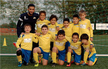 Kraainmen: El equipo belga que lanzó un plan de integración para niños refugiados