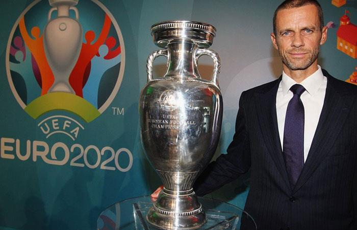 Aleksander Ceferin, presidente de la UEFA. Foto: twitter @UEFA