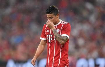 """James Rodríguez: """"Si tengo que irme del Bayern Munich porque no juego, me iré"""""""