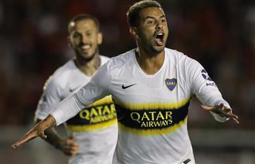 [VIDEO] Con golazo, Edwin Cardona pide a gritos final de Libertadores con Boca