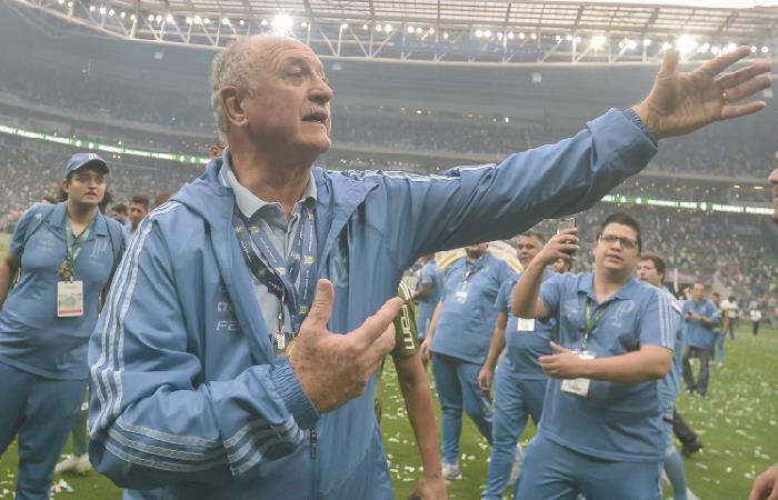 Scolari fue campeón del mundo con Brasil en 2002. Foto: AFP
