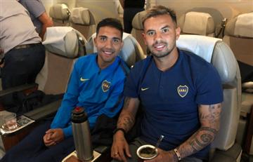 Copa Libertadores: [VIDEO] Boca ya está en Madrid y River llega escoltado al aeropuerto