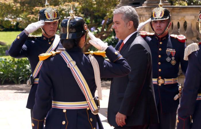 El presidente de Colombia Iván Duque. Foto. EFE.