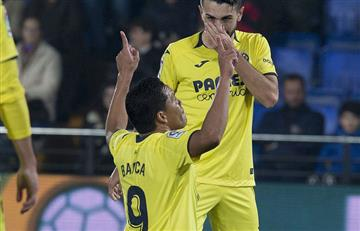 [VIDEO] ¡Escandaloso! Villarreal, con doblete de Bacca, humilla al Almería con un 8-0