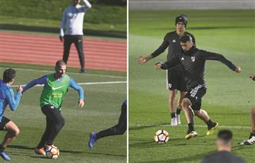 River Plate y Boca Juniors completaron su primer entrenamiento en Madrid