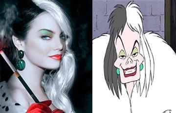 Emma Stone será Cruella de Vil en la nueva película de Disney
