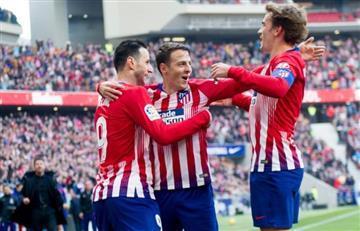 Santiago Arias, la figura del triunfo del Atlético ante Alavés
