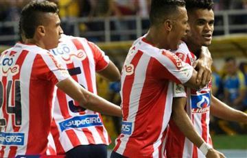 4-1: Poderosa goleada de Junior en la final de ida de Liga ante el DIM