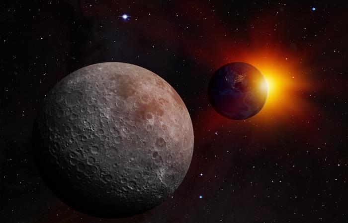 Experimentos en la Luna. Foto: Shutterstock