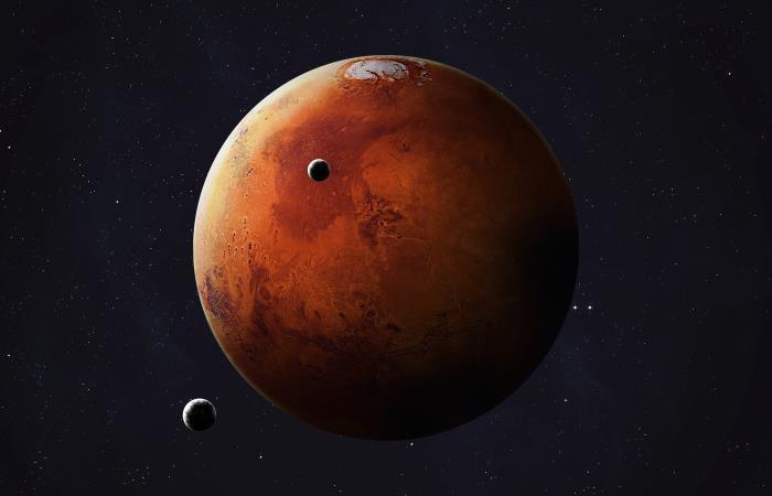 Este es el primer sonido que graban del planeta rojo. Foto: Shutterstock