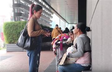 La youtuber Kika Nieto y su polémica ayuda a una familia venezolana
