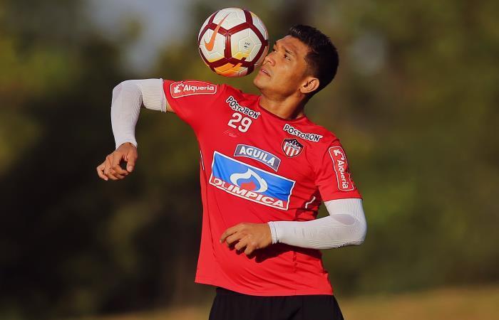 Teófilo Gutiérrez, figura de Junior de Barranquilla. Foto: AFP
