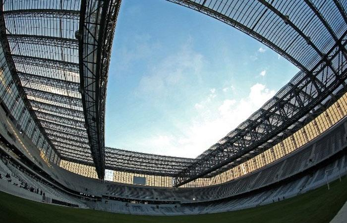 Arena da Baixada, el estadio donde se conocerá el campéon de Copa Sudamericana. Foto: AFP