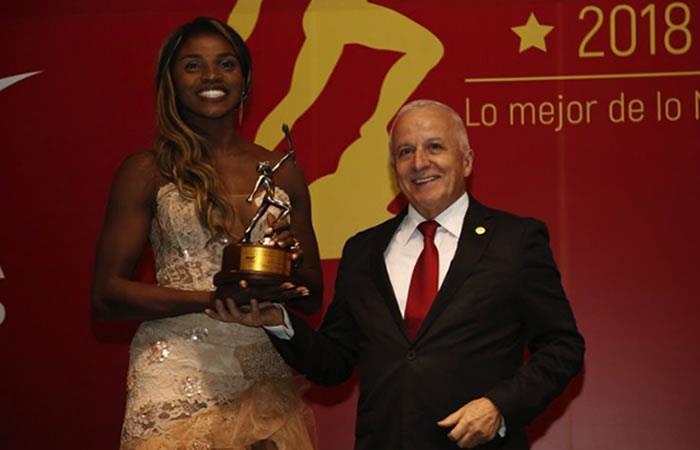 ¡Caterine Ibargüen es la deportista del año en Colombia!