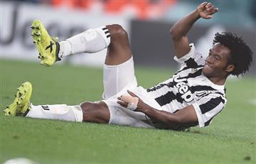 'Cuadradito' salió lesionado en el partido por la Champions