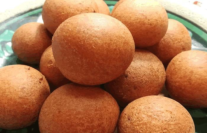 Buñuelos colombianos redonditos y esponjosos. Foto: Facebook