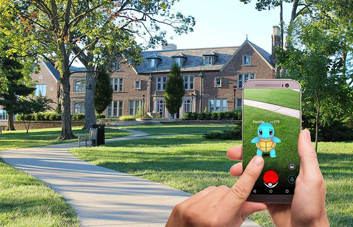 Pokémon Go, uno de los precursores de los juegos de realidad virtual. Foto: Pixabay