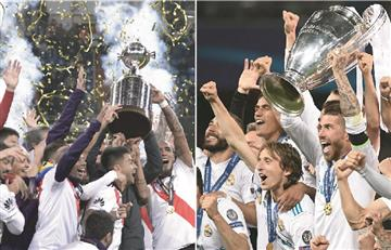 ¡River Plate cara a cara con Real Madrid!