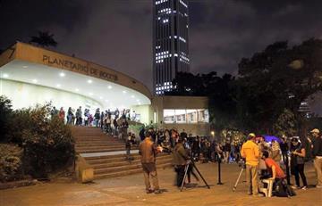 Prográmate para el show láser en el Planetario de Bogotá