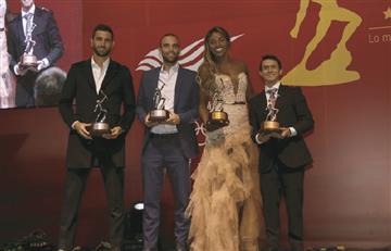 El tenis colombiano estuvo presente en los premios Altius