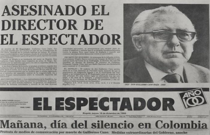 ¿Quién fue Guillermo Cano?