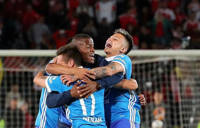 Millonarios recuerda su campeonato ante Santa Fe con el gol de Henry Rojas [VIDEO]