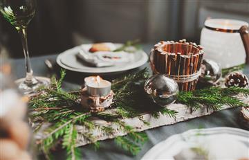 Ideas increíbles para decorar tu mesa en esta Navidad
