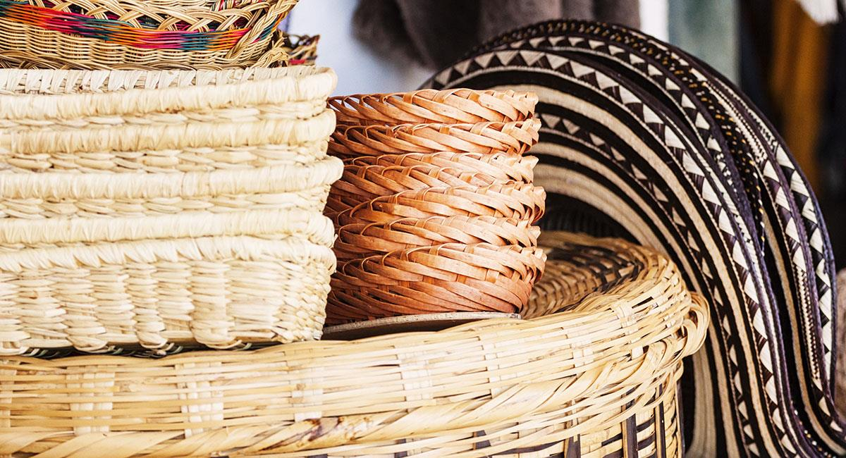 Artesanías de Colombia. Foto: Shutterstock